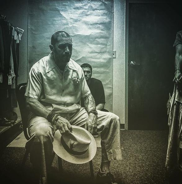 Tom Hardy como Al Capone