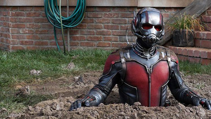 Ant Man en escena