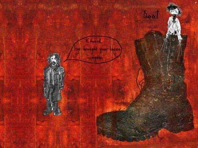 johnny depp pinturas