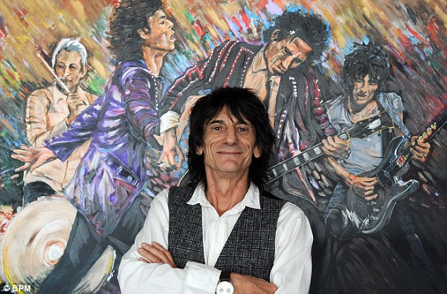 ronnie wood artista