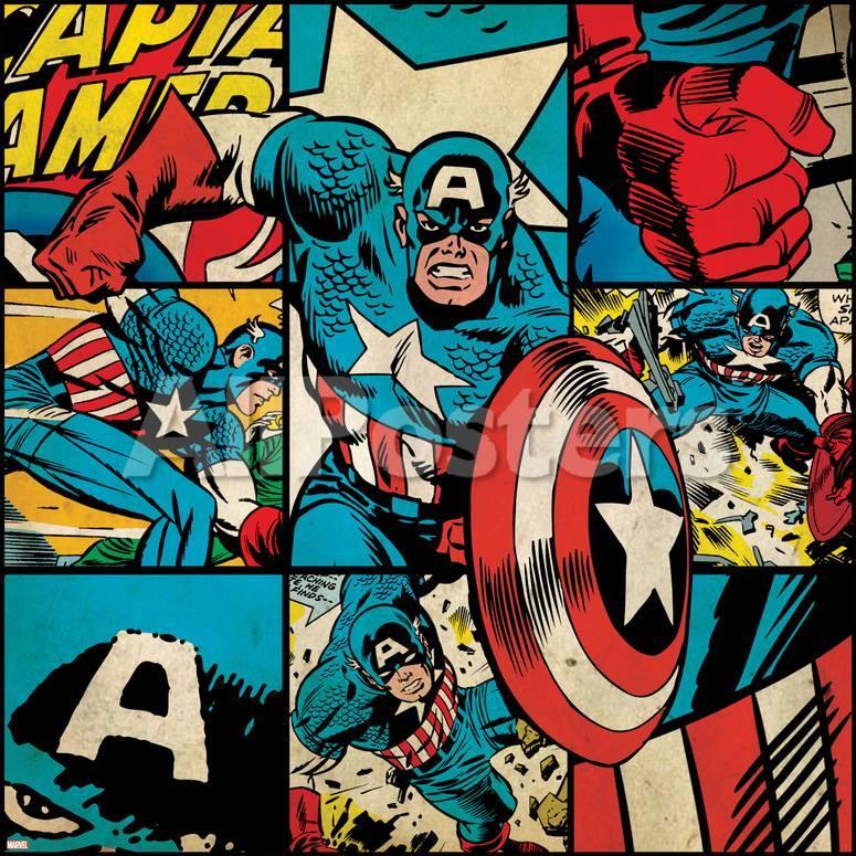 18 curiosidades que no sab as sobre el capit n am rica - Marvel retro wallpaper ...