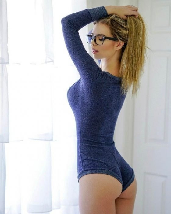 Sensual women with glasses