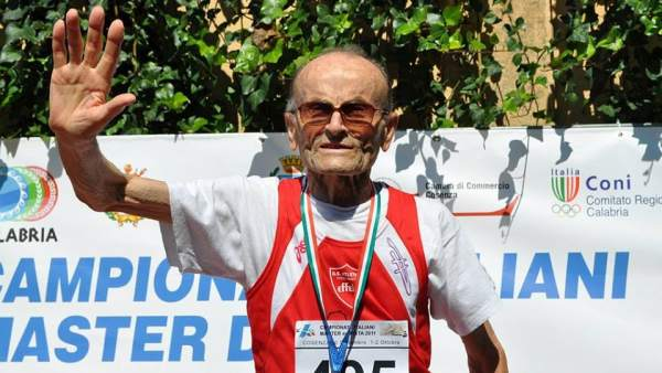 Giuseppe Ottaviani 101 year old athlete