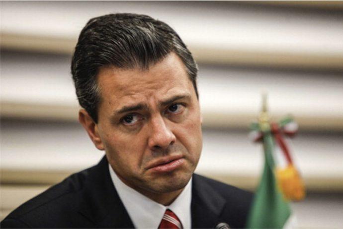 Peña Nieto triste