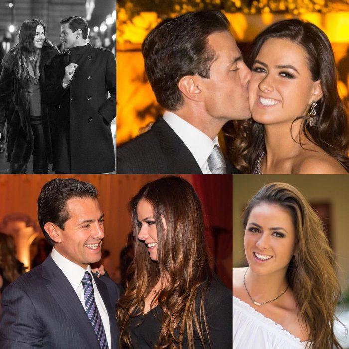 Peña Nieto y su hija