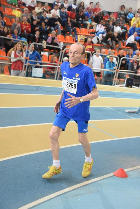 Giuseppe Ottaviani atleta de 101 años