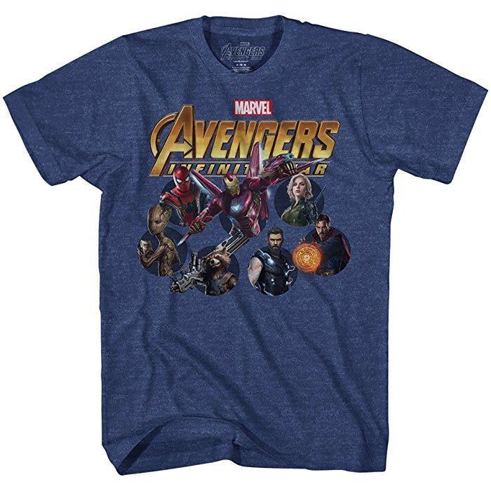 Camiseta de Los Vengadores