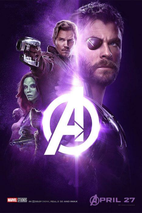 Póster de Infinity War