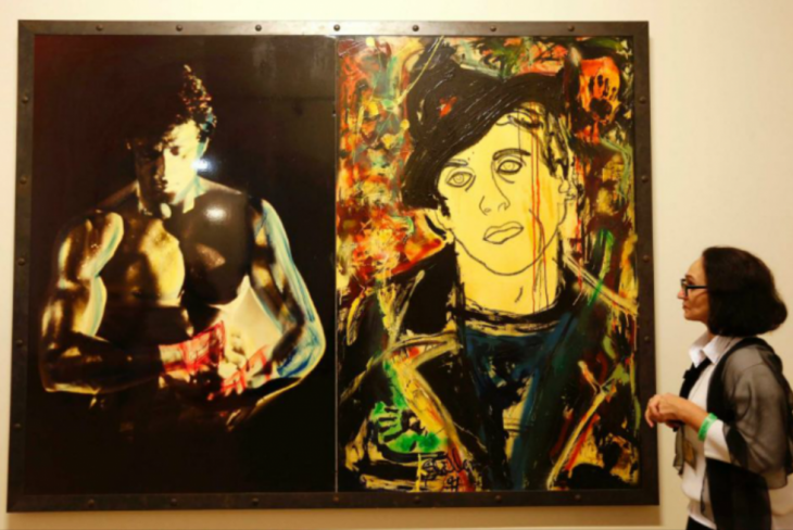 sylvester stalone pinturas