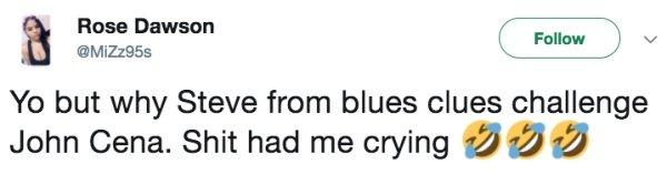 john cena pistas de blue