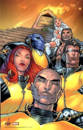 X-Men por Grant Morrison
