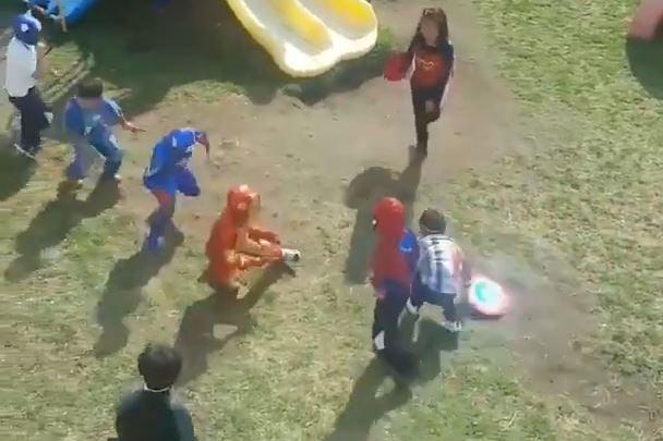 Niños Avengers