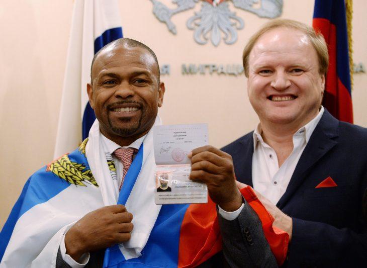 boxeador ruso