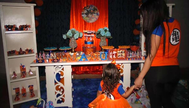 Nina Hace Fiesta De Cumpleanos De Dragon Ball Se Hace Viral