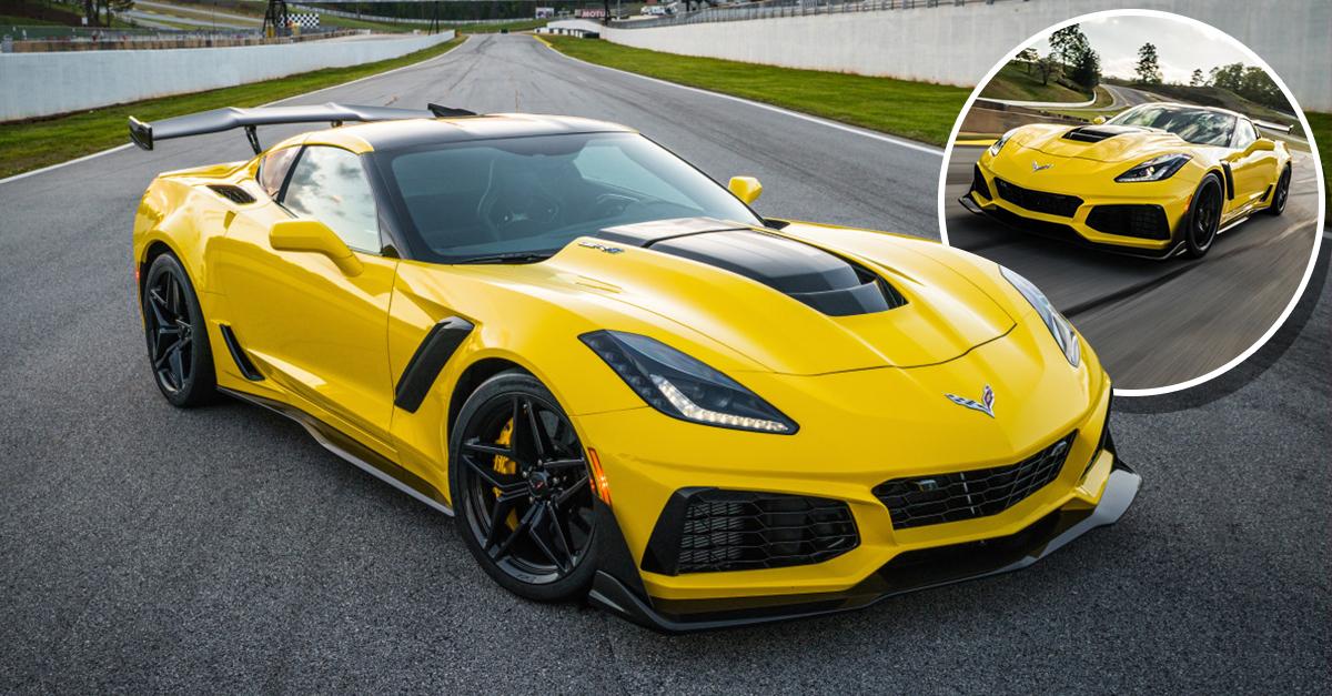 El nuevo Corvette ZR1 2019, súperdeportivo que escupe fuego