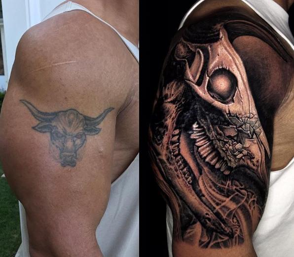 tatuaje roca