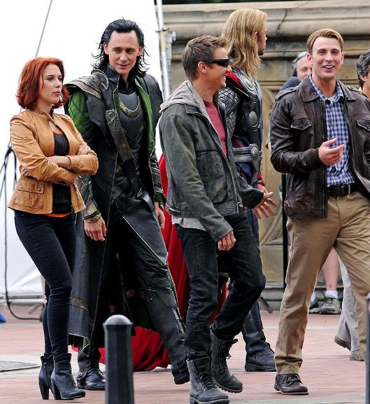 Set de Los Vengadores
