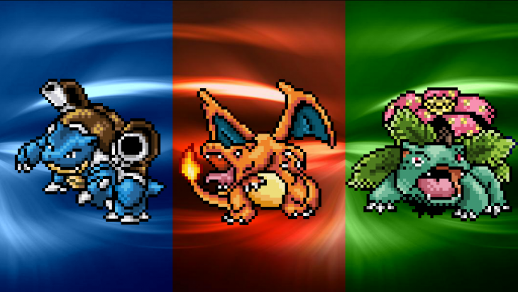Pokémon Red/Green/Blue Version