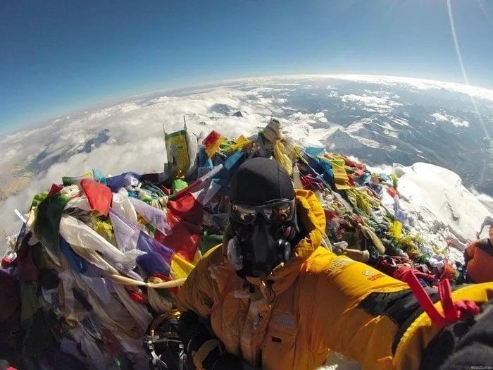 Foto desde el Everest