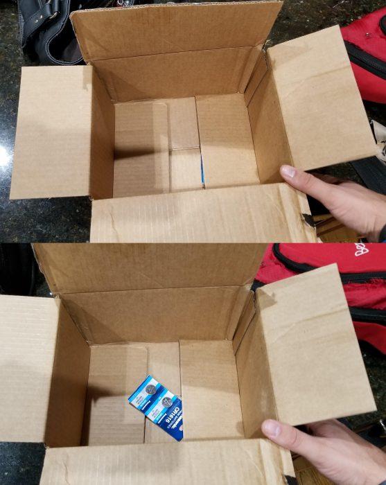caja enorme