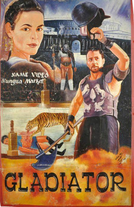 Carteles africanos de películas
