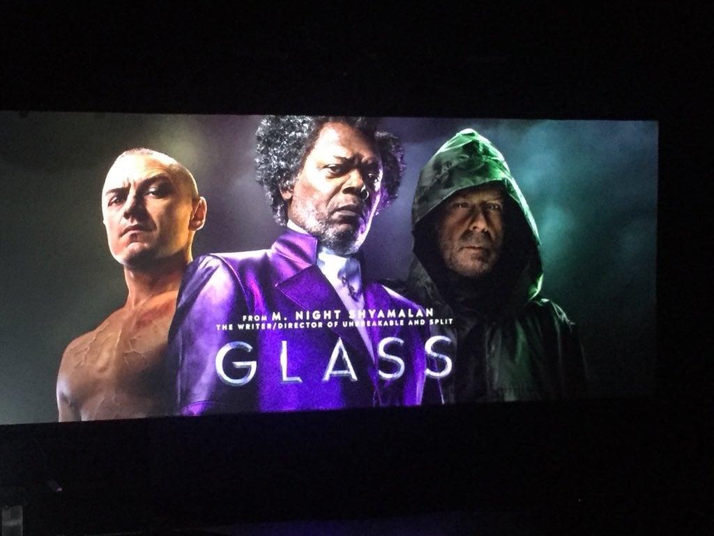2019 Movie Poster Glass: Echa Un Primer Vistazo A Glass, La Película De M. Night