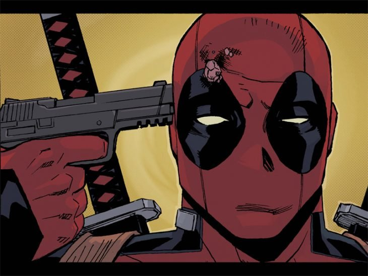 deadpool se dispara