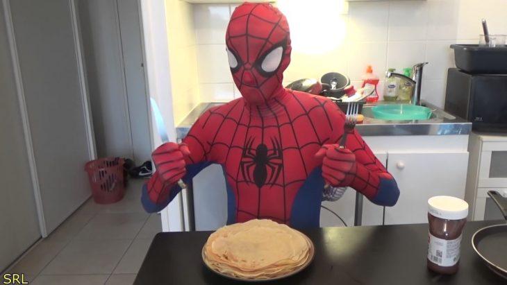 spiderman hot cakes