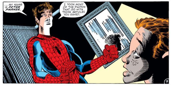 spiderman revela identidad