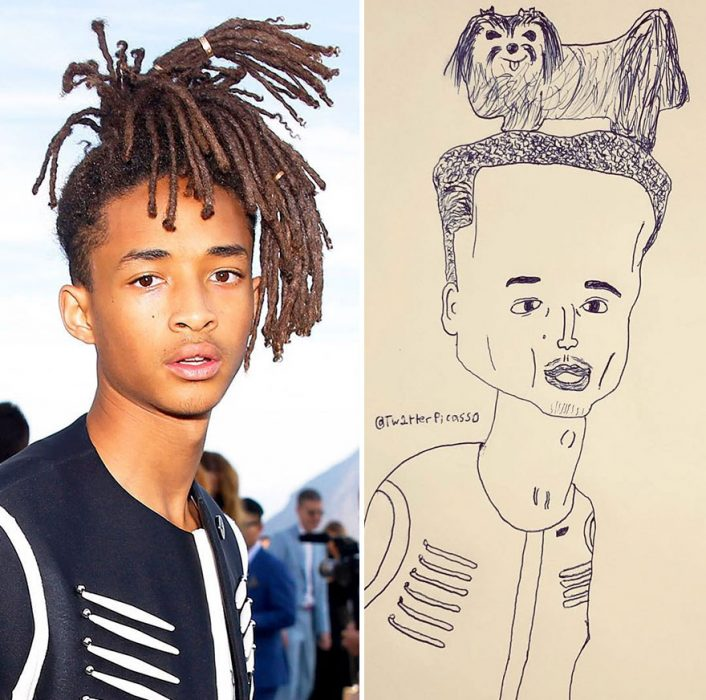 Picasso from Twitter