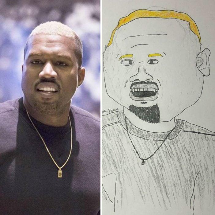 B celebrity portraits made
