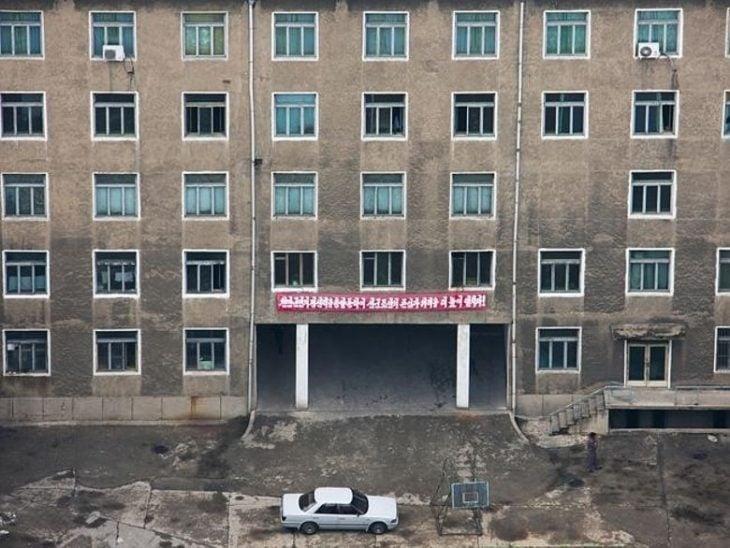 edificio corea del norte