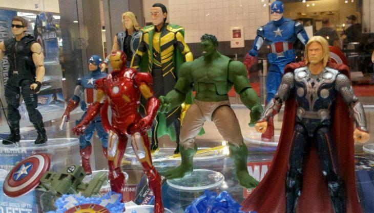 Muñecos de Marvel
