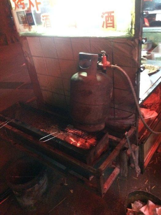 tanque de gas