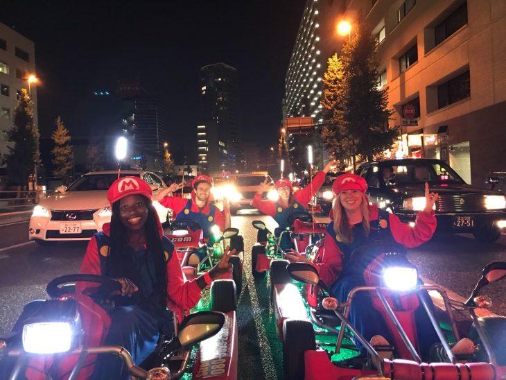 Mario Kart en Japón