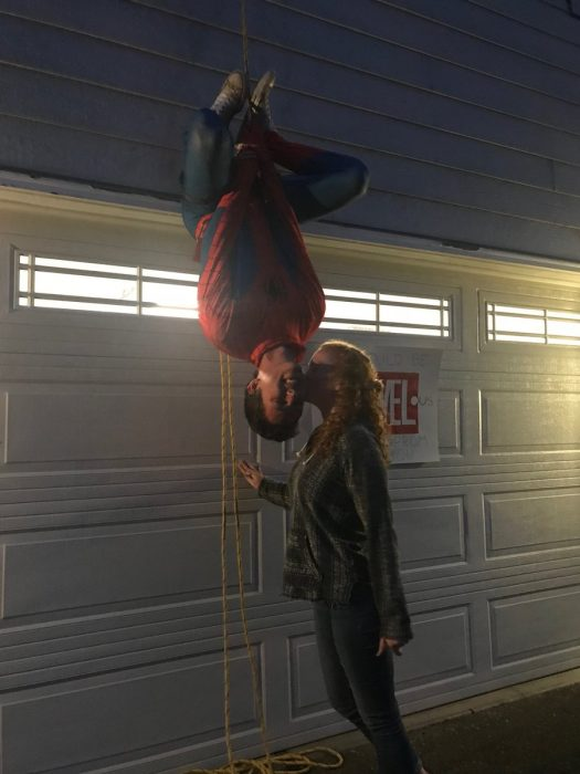 adam y jenna spiderman