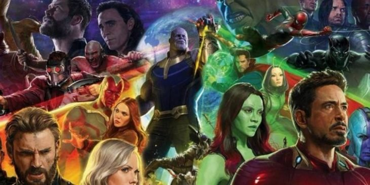 avengers thanos poster