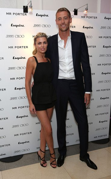 Peter Crouch and Abby Clancy