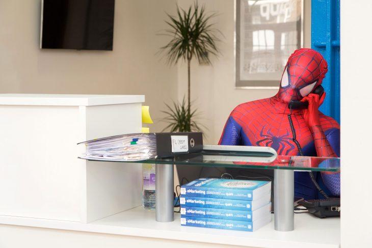 spiderman trabaka