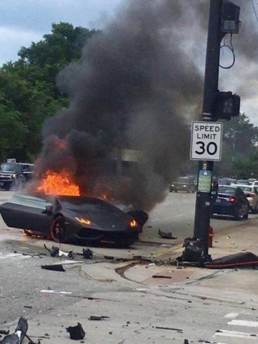 Accidentes misteriosos de auto