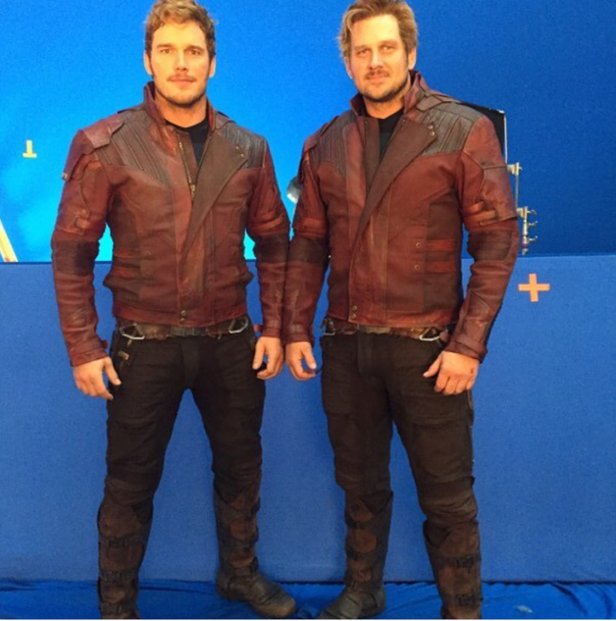 doble de acción de star-lord