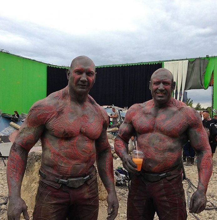 doble de acción de drax