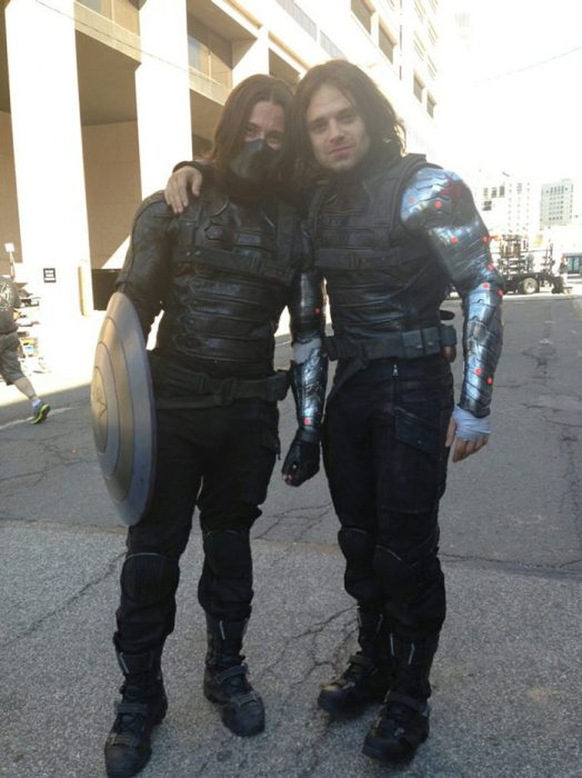 doble de acción de bucky