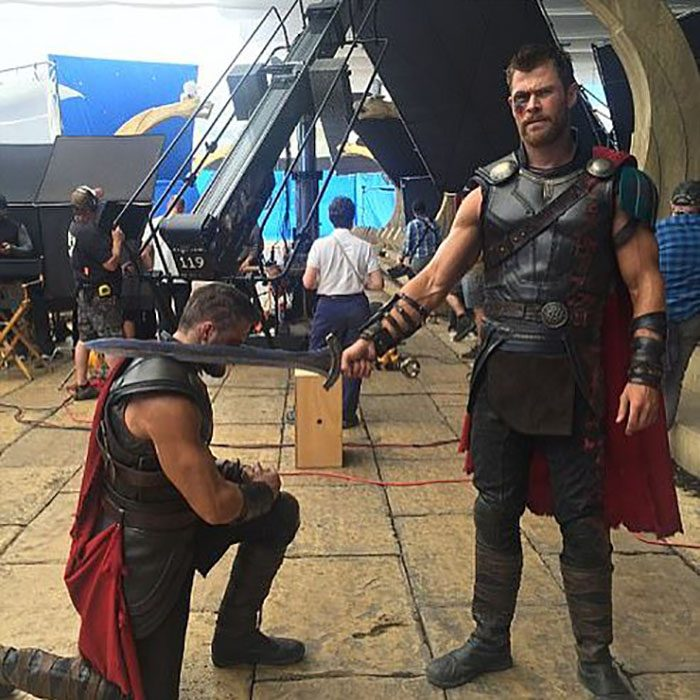 doble de acción de thor