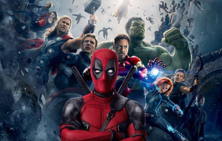 deadpool y avengers