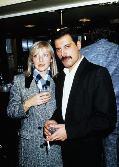 Fr4eddy Mercury con Mary Austin