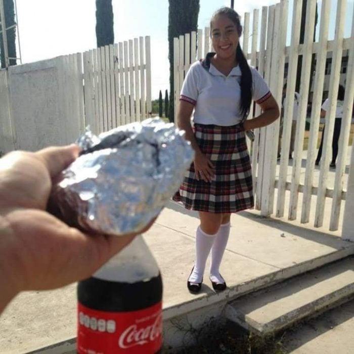 Chica de secundaria