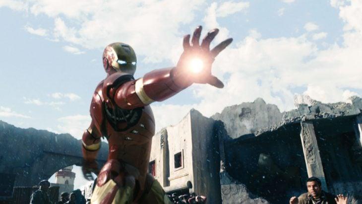 Escena de Iron Man