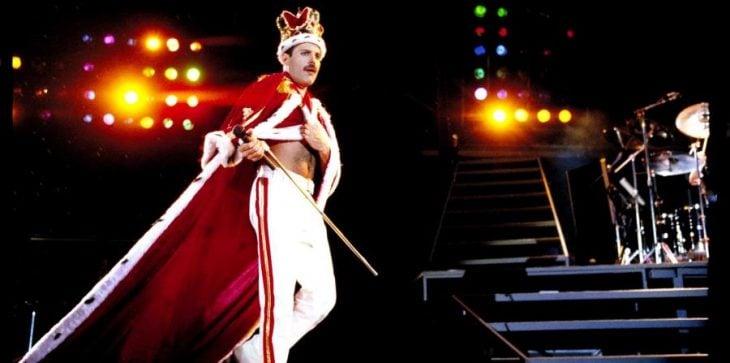Freddy Mercury en el escenario