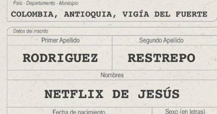 registro civil netflix